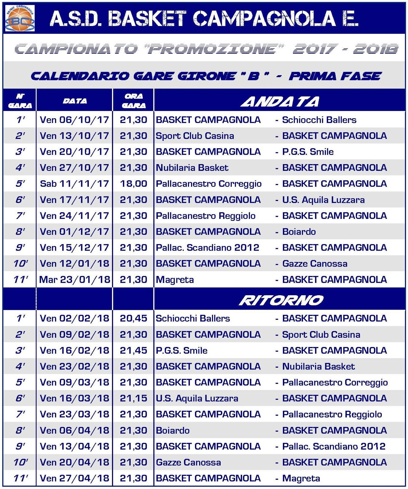 calendario-basket-campagnola-2017-2018
