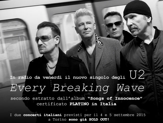 u2 every breaking