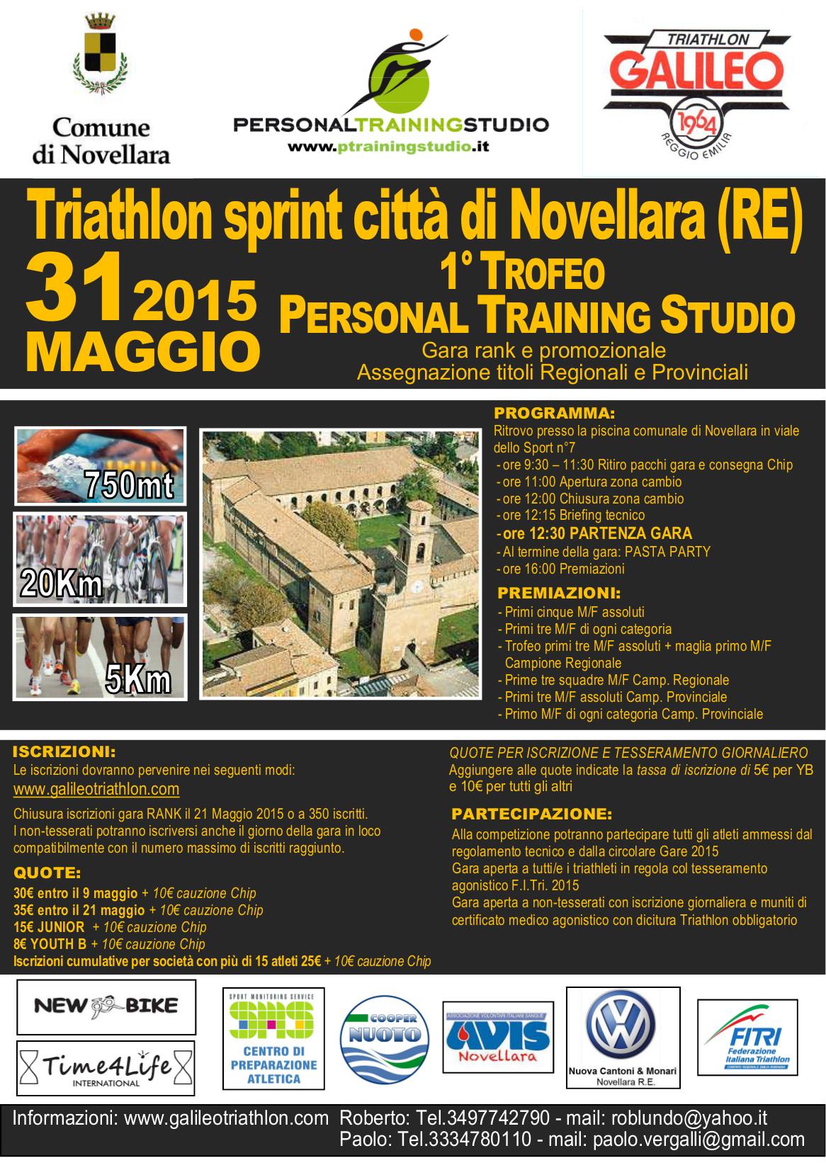 Triathlon sprint citta 39 di novellara radio bruno - Piscina novellara ...