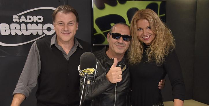 Luca Carboni a Radio Bruno! Guarda le foto della diretta