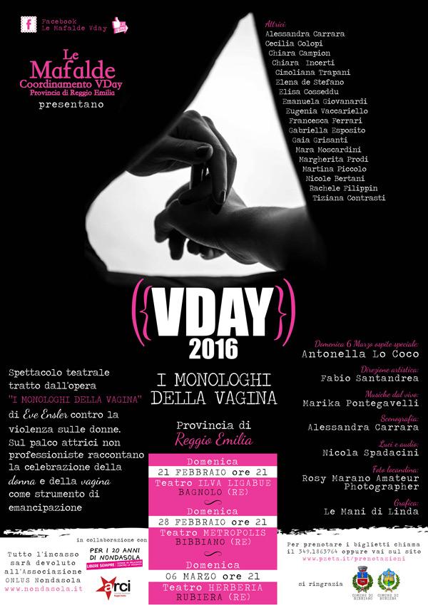Mafalde per Nondasola: I monologhi della vagina