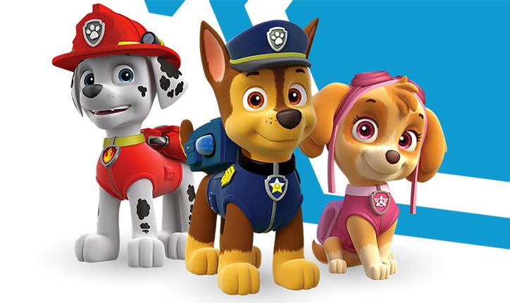 Il dog trainer ci parla dei paw patrol radio bruno for Disegni di paw patrol