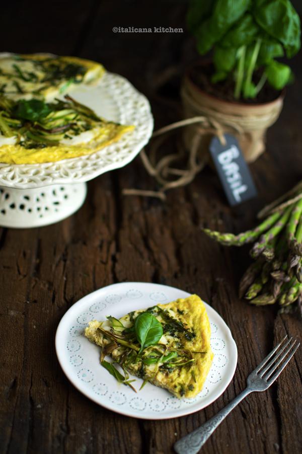 Frittata-with-Shaved-Asparagus-Basil-and-Mozzarella-4
