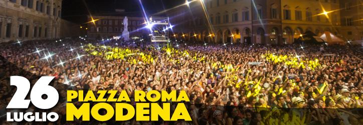 26 luglio - Piazza Roma - Modena