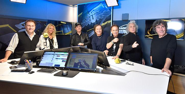 I Pooh a Radio Bruno   Guarda le foto della diretta