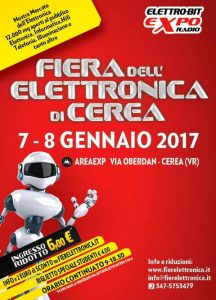 Radio bruno fiera dell elettronica di cerea for Fiera elettronica 2017