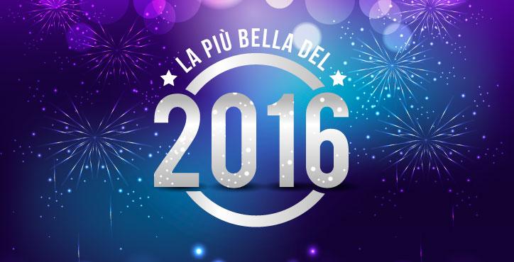 La più bella del 2016 Grazie a tutti della partecipazione. Scopri la classifica completa