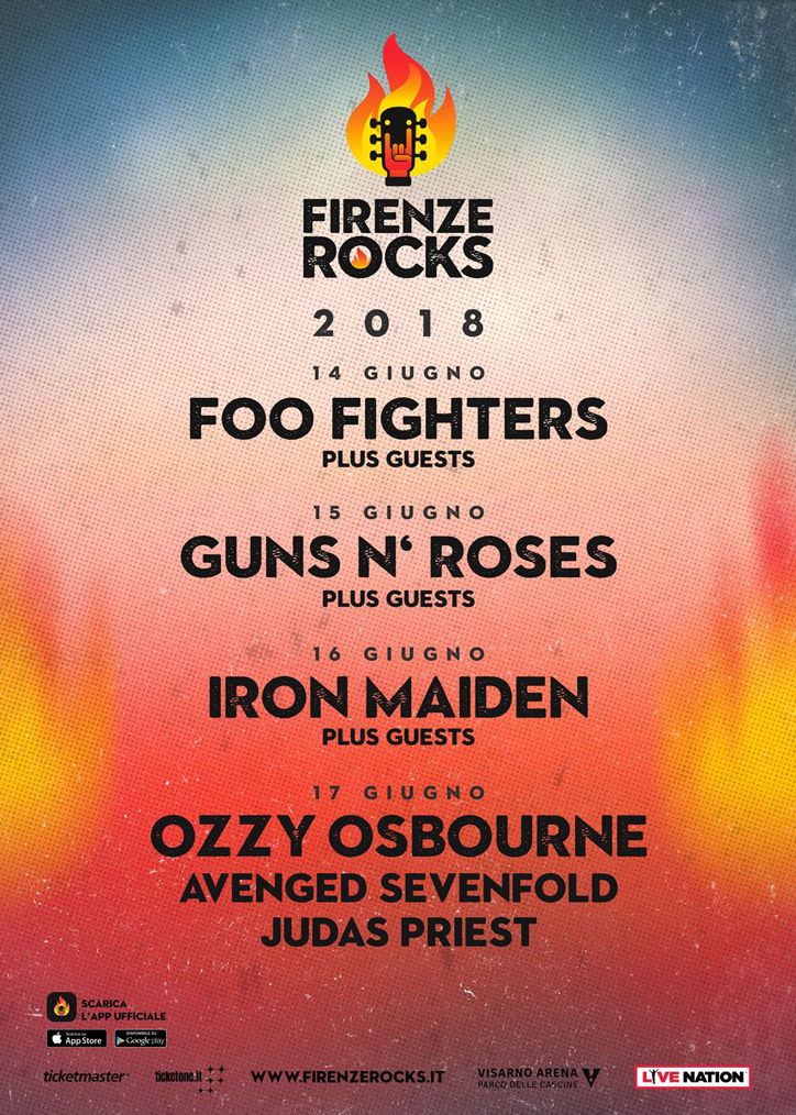 Firenze Rocks 2018 Tutti I Concerti Radio Bruno