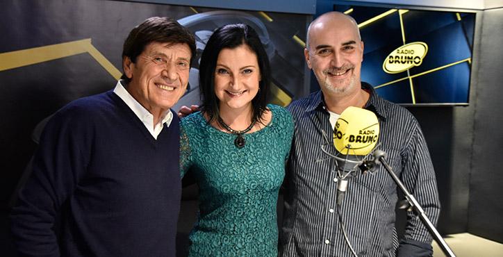 Gianni Morandi a Radio Bruno Guarda le foto della diretta!
