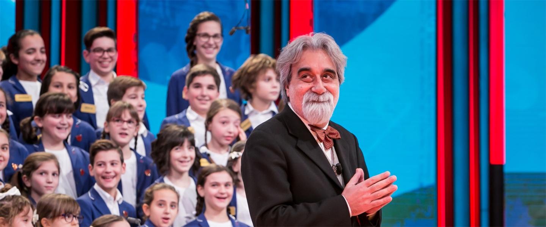 Peppe Vessicchio e il Piccolo Coro dell'Antoniano tornano a Sanremo