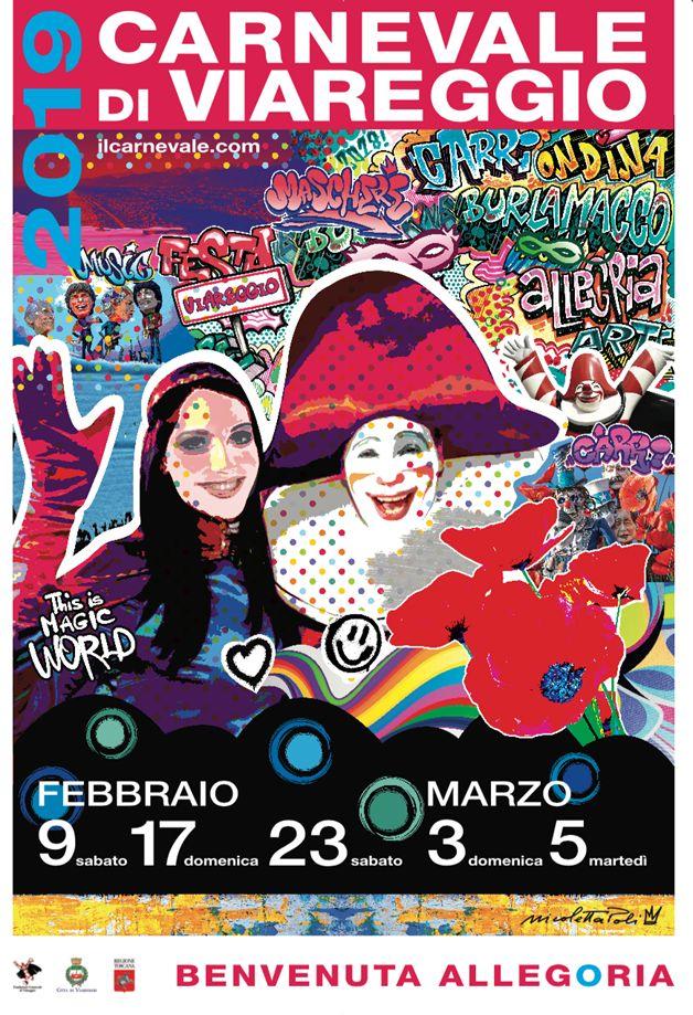 Calendario Carnevale Viareggio 2020.Carnevale Di Viareggio 2019 Tutto Al Femminile Ecco Le Date