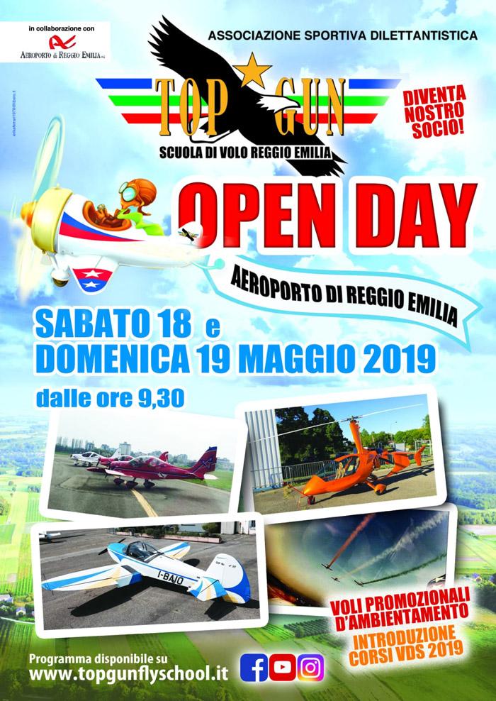 Open day all 39 aeroporto di reggio emilia radio bruno for Corsi di cucina reggio emilia