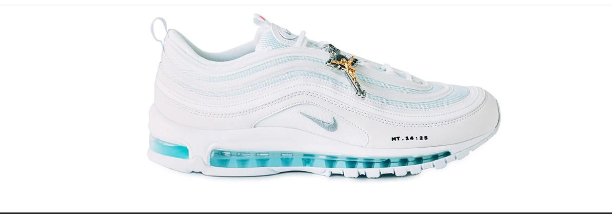"""vendite calde nuovo stile acquisto economico A ruba le """"Jesus sneaker"""", scarpe da ginnastica ispirate a ..."""