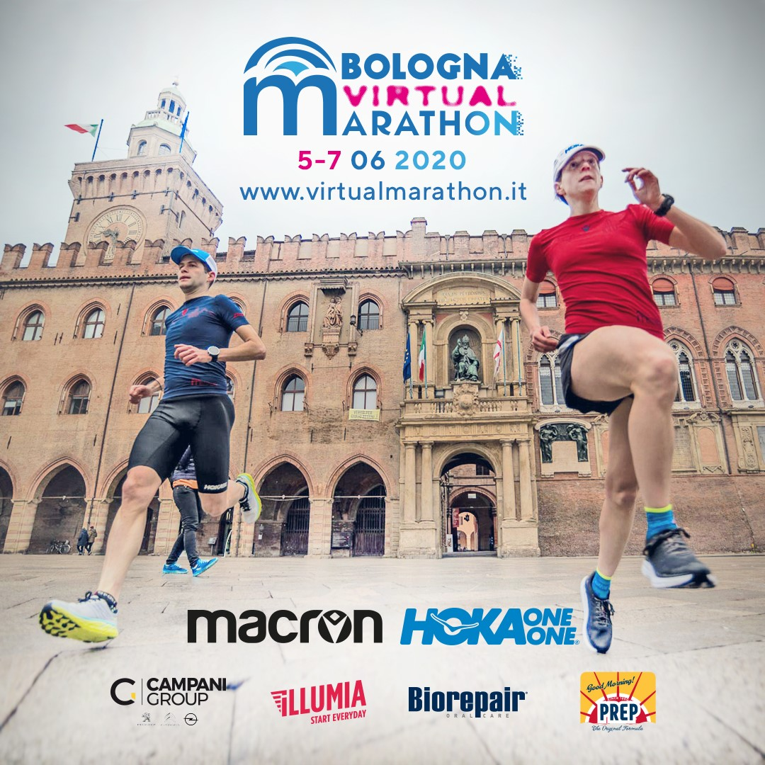 Bologna Virtual Marathon | Radio Bruno